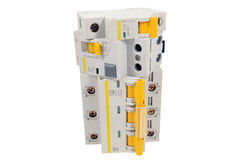 Automatic circuit breaker Royalty Free Stock Image