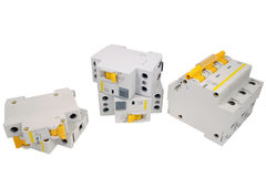 Automatic circuit breaker royalty free stock images
