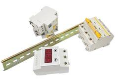 Automatic circuit breaker Royalty Free Stock Photo