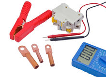 Automatic circuit breaker Royalty Free Stock Photos