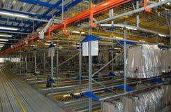 Automatic clothing warehouse Royalty Free Stock Photo