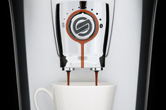 Automatic coffee machine Royalty Free Stock Photography