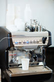 Automatic coffee-machine royalty free stock images