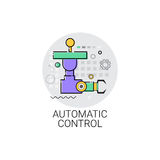 Automatic Control Machinery Industrial Automation Industry Production Icon Royalty Free Stock Photography