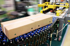 Automatic conveyor. Image of an automatic conveyor Royalty Free Stock Photos