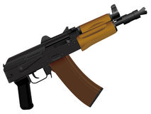 Automatic device. The weapon the automatic device kalashnikov assault - a Royalty Free Stock Photography