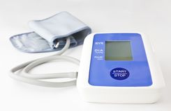 Automatic digital blood pressure Stock Photos