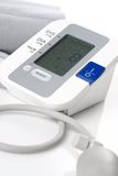 Automatic Digital Blood Pressure Monitor Isolated Stock Photo