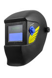 Automatic dimming welding mask Royalty Free Stock Image