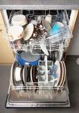 Automatic dishwasher machine Stock Image