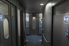 Automatic Door for green class car of N700A Series train. Stock Photography