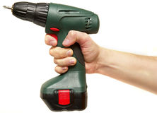Automatic drill / screwdriver Royalty Free Stock Images