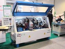 Automatic edge machine, Russia, Krasnodar Stock Images