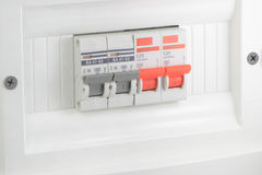 Automatic electricity home Royalty Free Stock Image