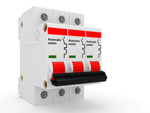 Automatic electricity switch Royalty Free Stock Image