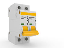 Automatic electricity switch Stock Photos