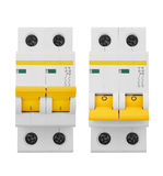 Automatic electricity switchers Stock Image