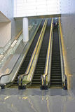 Automatic escalators Royalty Free Stock Photography