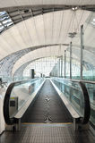 The automatic escalators in airport Stock Photography