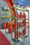 Automatic fire extinguishing system Stock Photography