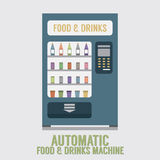 Automatic Food And Drinks Machine Stock Photos
