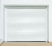 Automatic garage door Royalty Free Stock Images