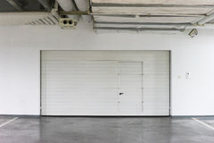 Automatic garage door Stock Photography