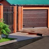 Automatic Garage Gate Royalty Free Stock Images
