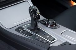 Automatic gear shift royalty free stock image