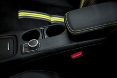 Automatic gear shift of a car. See my other works in portfolio royalty free stock image