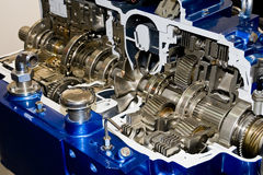 Automatic gearbox. Cut-through view royalty free stock images
