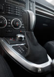 Automatic gearbox shifter Royalty Free Stock Image