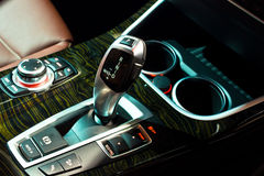 Automatic gearbox shifter Stock Photos