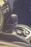 Automatic gearbox shifter Stock Photography