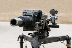 Automatic grenade launcher Stock Images