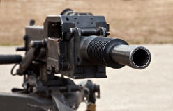 Automatic grenade launcher Stock Photo