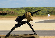 Automatic grenade launcher heavy machine Royalty Free Stock Photo