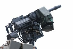 Automatic Grenade Launcher Royalty Free Stock Images