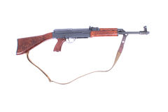 Automatic gun Royalty Free Stock Photography