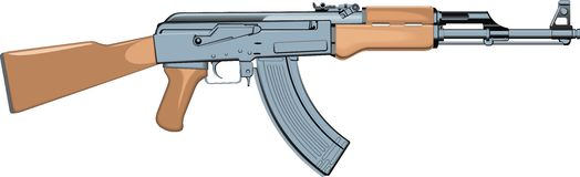 Automatic gun Royalty Free Stock Photos
