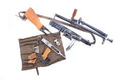 Automatic gun Stock Image