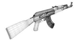 Automatic gun Royalty Free Stock Image