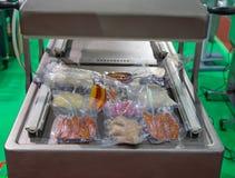 Free Automatic Heat Sealing Vacuum Machine Stock Photos - 140661383