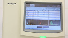 Automatic Hematology Analyzer. Royalty Free Stock Photography