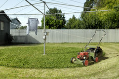 Automatic Lawnmower Royalty Free Stock Image
