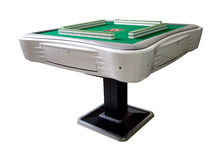 Automatic mahjong table Royalty Free Stock Image
