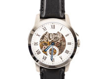 Automatic Men Watch With Visible Mechanism Isolated