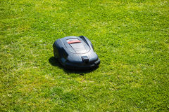 Automatic mower Royalty Free Stock Photography