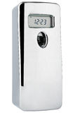 Automatic odour dispenser with timer stainless steel Royalty Free Stock Images
