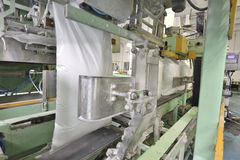 Automatic packaging machine Stock Photography